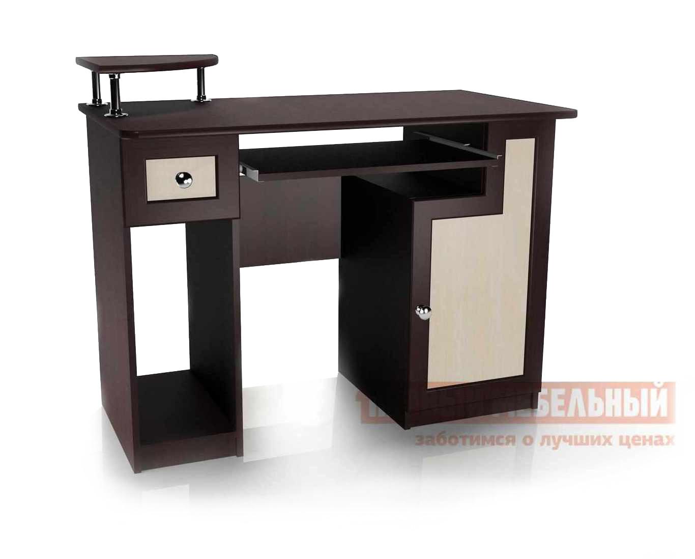 Компьютерный стол Мебелеф Стол для компьютера«Мебелайн – 1» тумба мебелайн 17