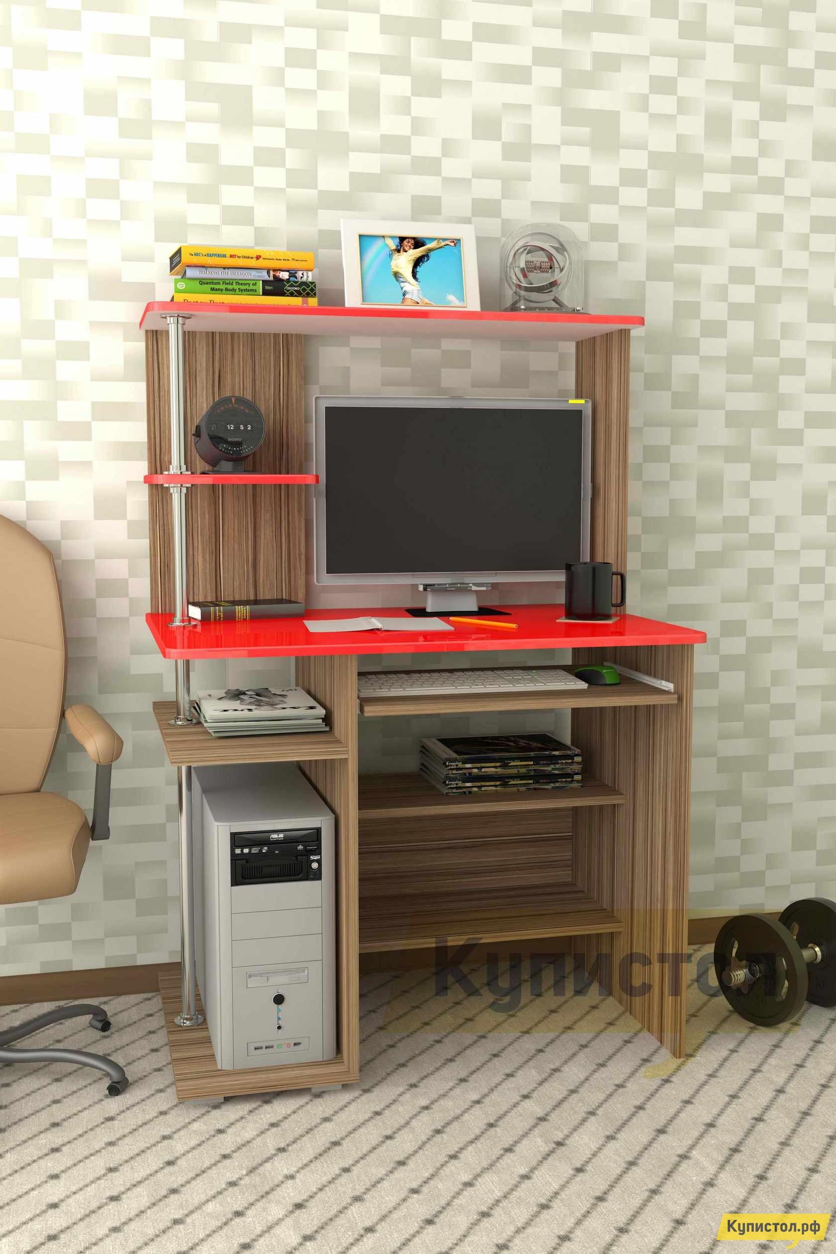 Компьютерный стол Мебелеф Компьютерный стол «Мебелеф-45»