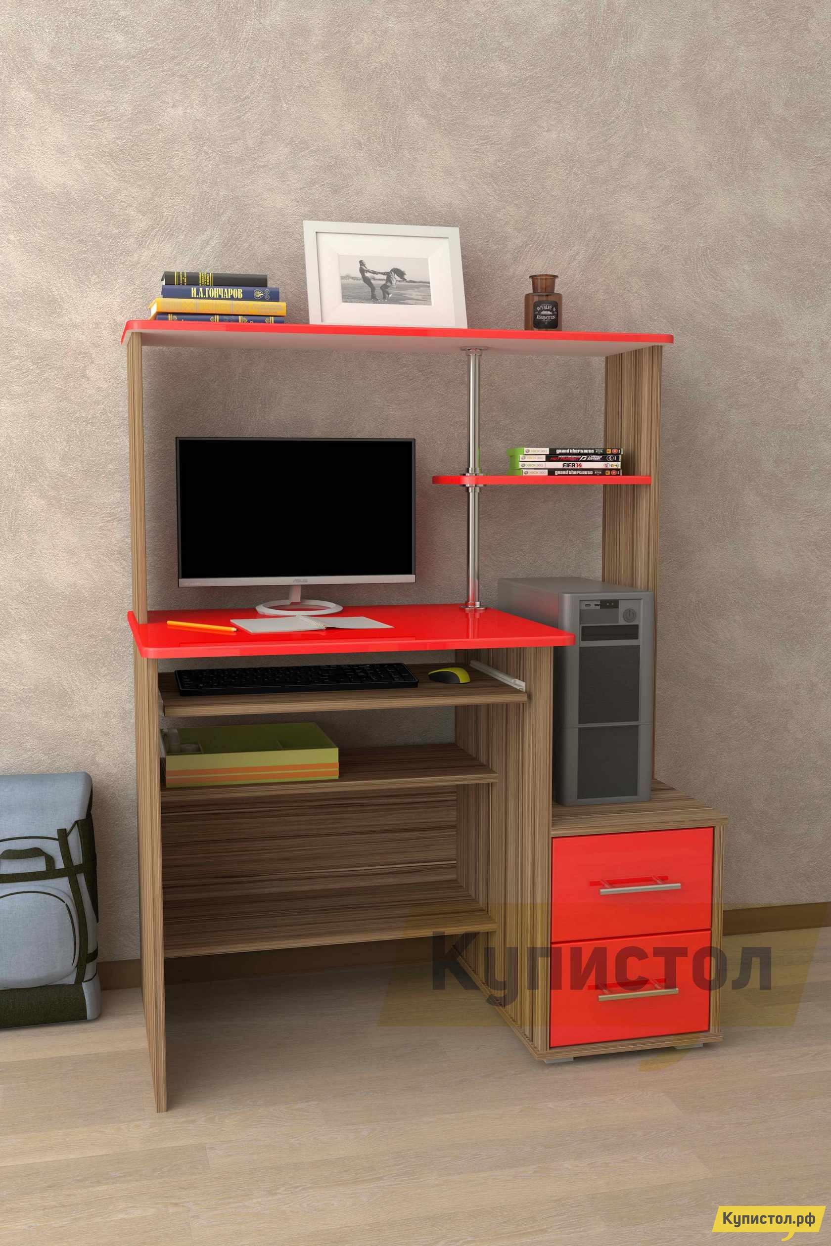 Компьютерный стол Мебелеф Компьютерный стол «Мебелеф-46»