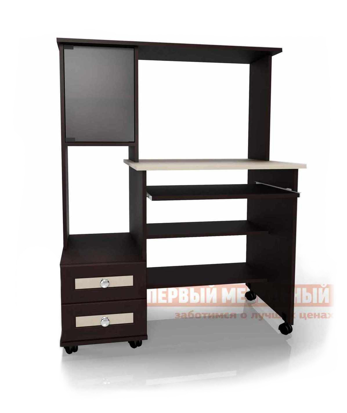 Компьютерный стол Мебелеф Стол для компьютера«Мебелайн – 27» тумба мебелайн 4 акция