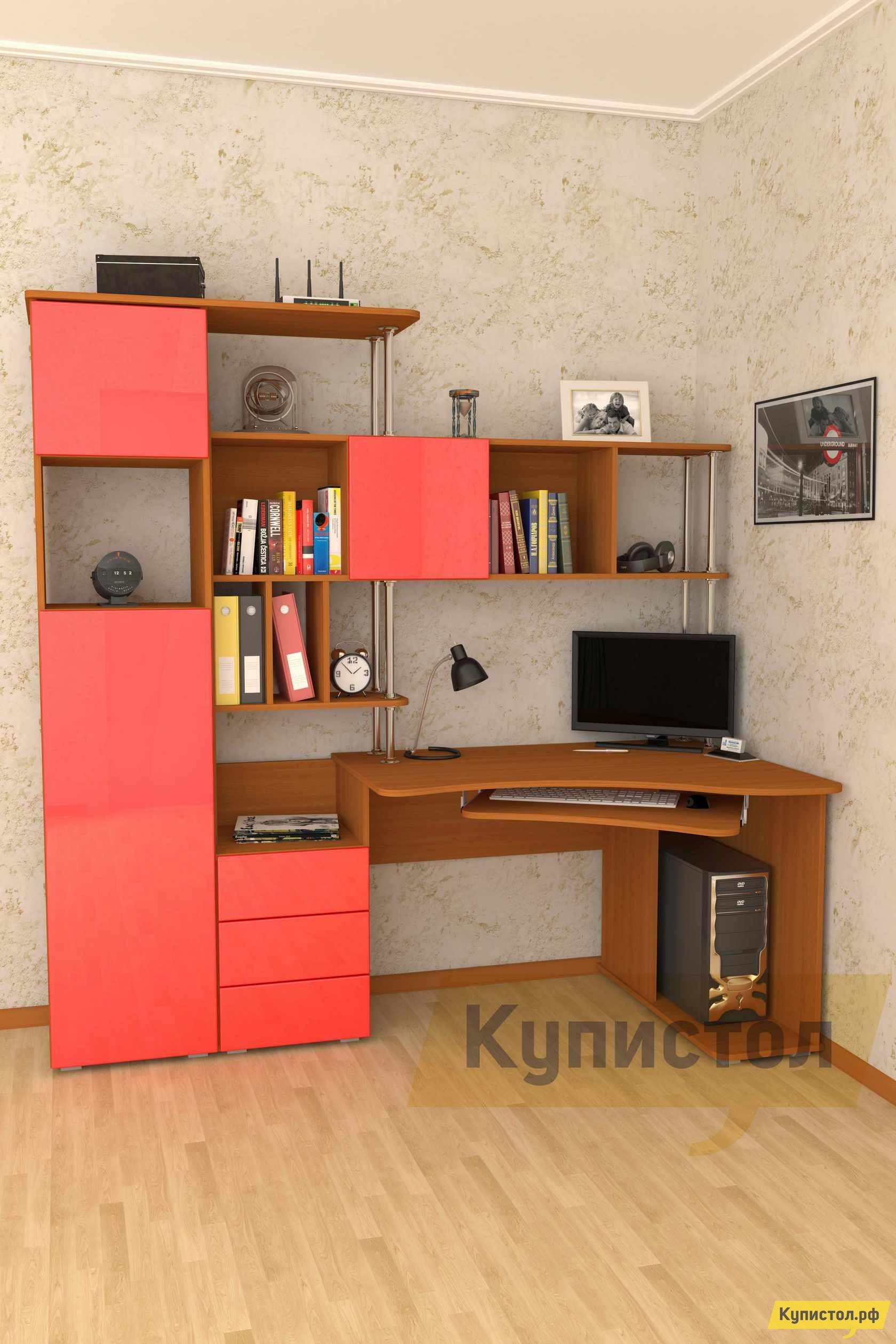Угловой компьютерный стол Мебелеф Компьютерный стол «Мебелеф-31»