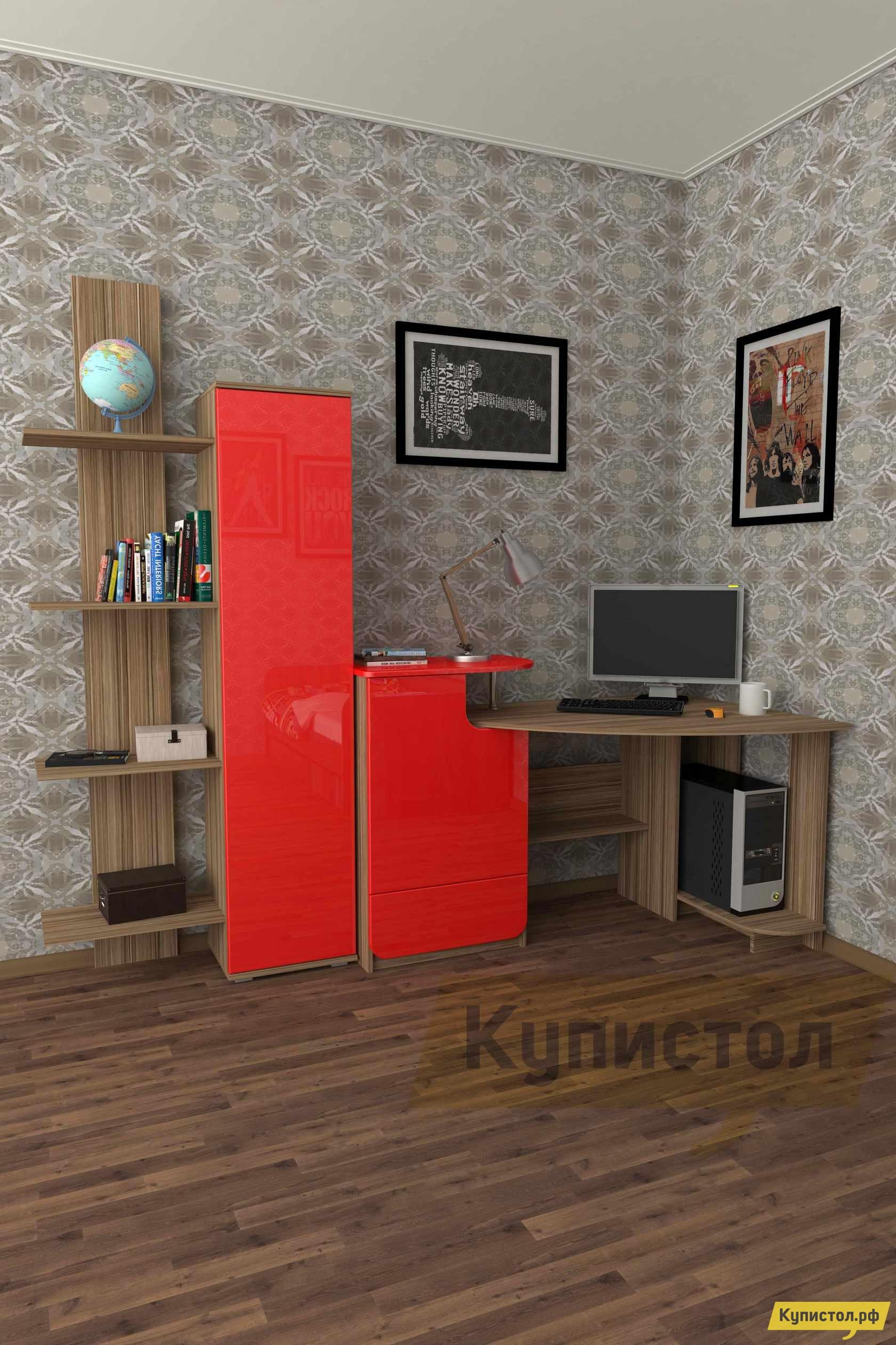 Угловой компьютерный стол Мебелеф Компьютерный стол «Мебелеф-43»