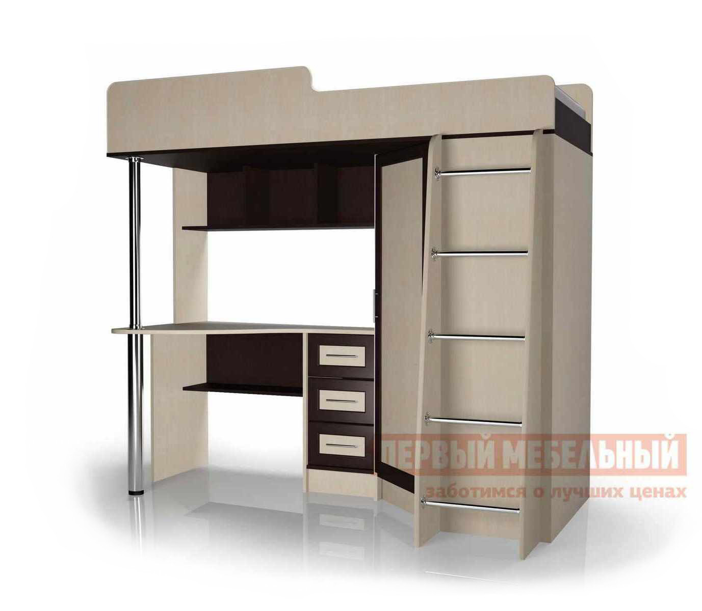 Кровать-чердак Мебелеф 2-х ярусная кровать «Мебелайн – 2»