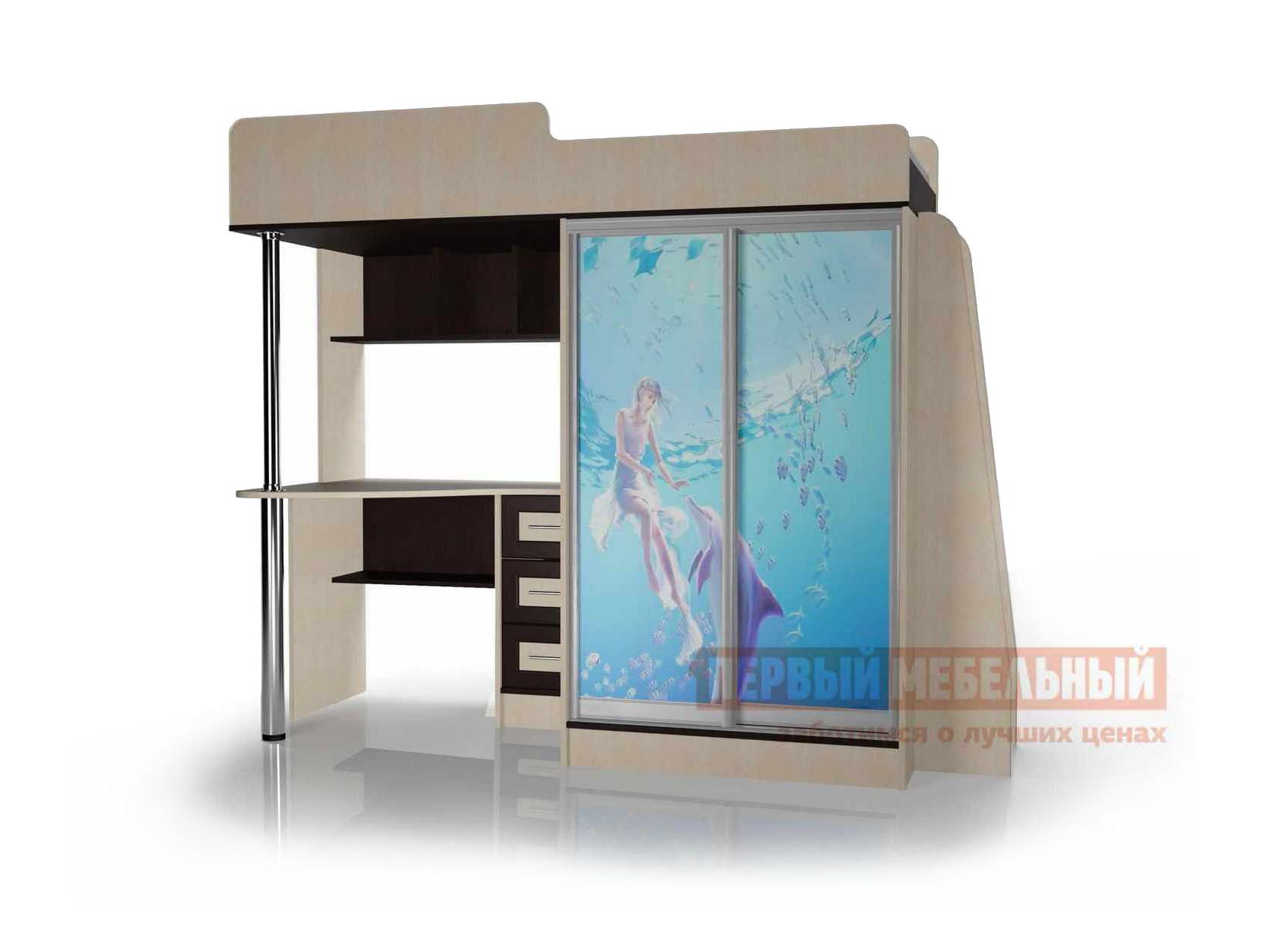 Кровать-чердак Мебелеф 2-х ярусная кровать «Мебелайн – 4» цена