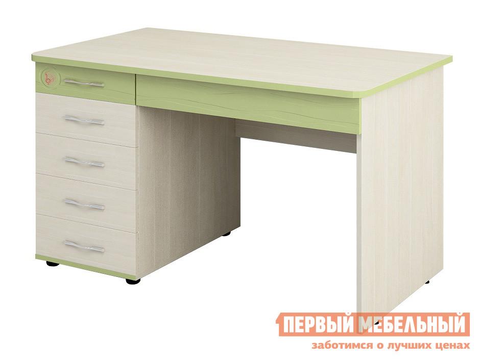 Компьютерный стол Витра Акварель-53.14 Дуб Кобург / Едера глянец
