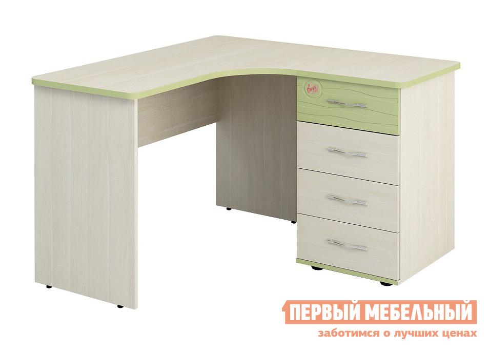 Компьютерный стол Витра Акварель-53.13 Дуб Кобург / Едера глянец