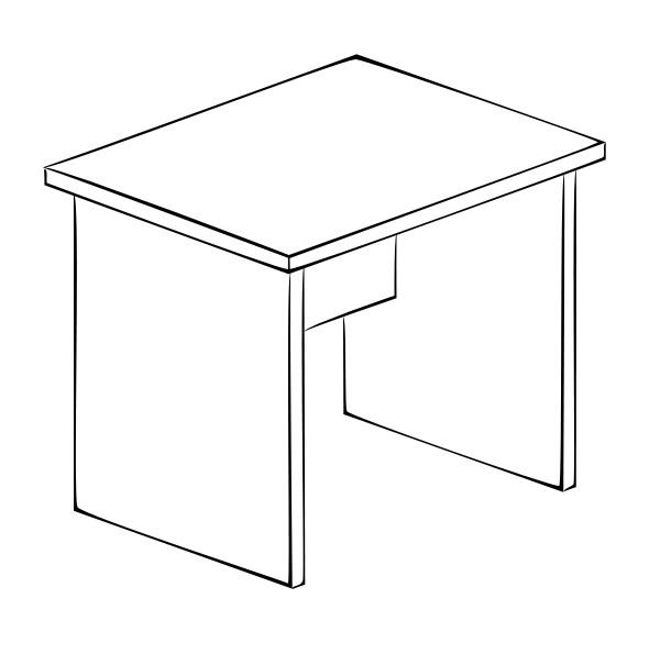 Письменный стол Витра 61(62).20 стеллаж витра 61 62 41