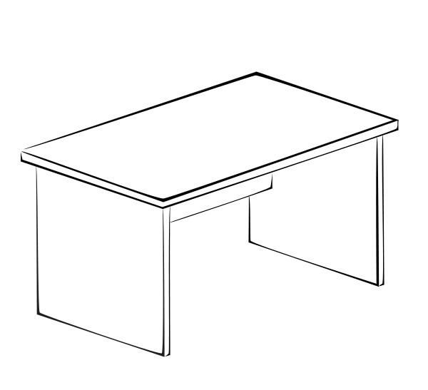 Письменный стол Витра 41(42).41 компьютерный стол витра 41 42 42