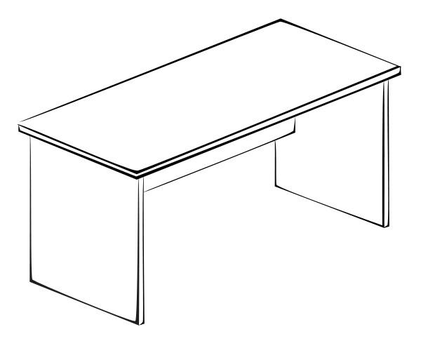 Письменный стол Витра 41(42).40 стол для переговоров витра 41 42 54