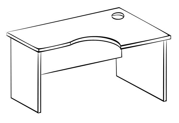 Письменный стол Витра 61(62).21 стеллаж витра 61 62 41