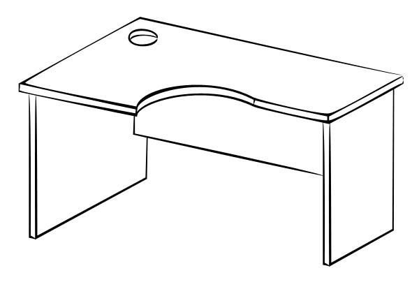 Письменный стол Витра 61(62).22 стеллаж витра 61 62 41