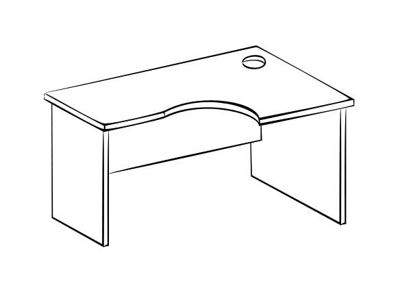 Компьютерный стол Витра 61(62).61 стеллаж витра 61 62 41