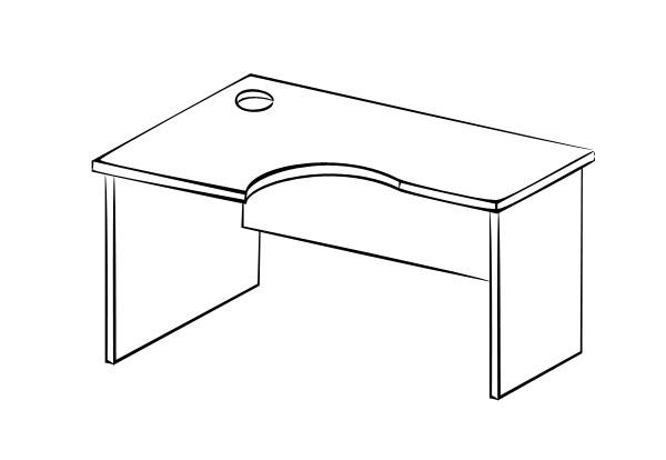 Компьютерный стол Витра 61(62).62 стеллаж витра 61 62 41