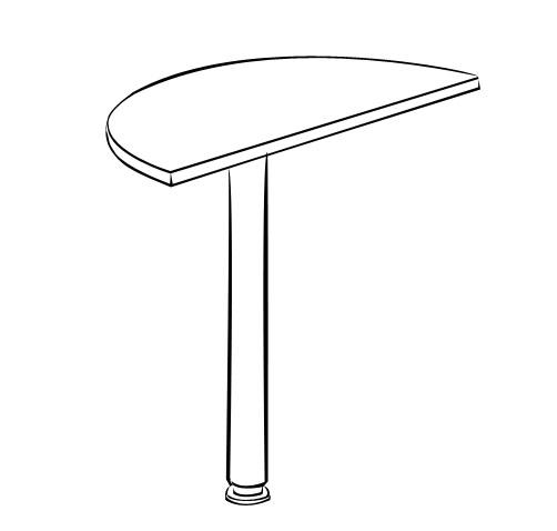 Стол-приставка Витра 41(42).15 стол приставка витра 41 42 16