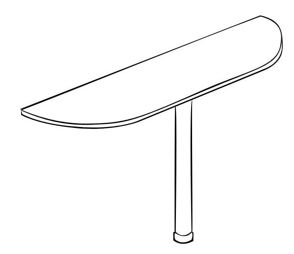 Стол-приставка Витра 61(62).29 стеллаж витра 61 62 41