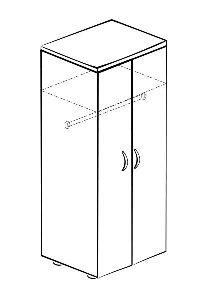 Шкаф распашной Витра 61(62).42