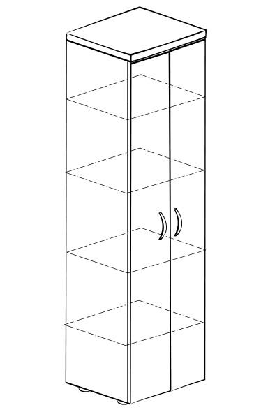 Шкаф распашной Витра 61(62).50