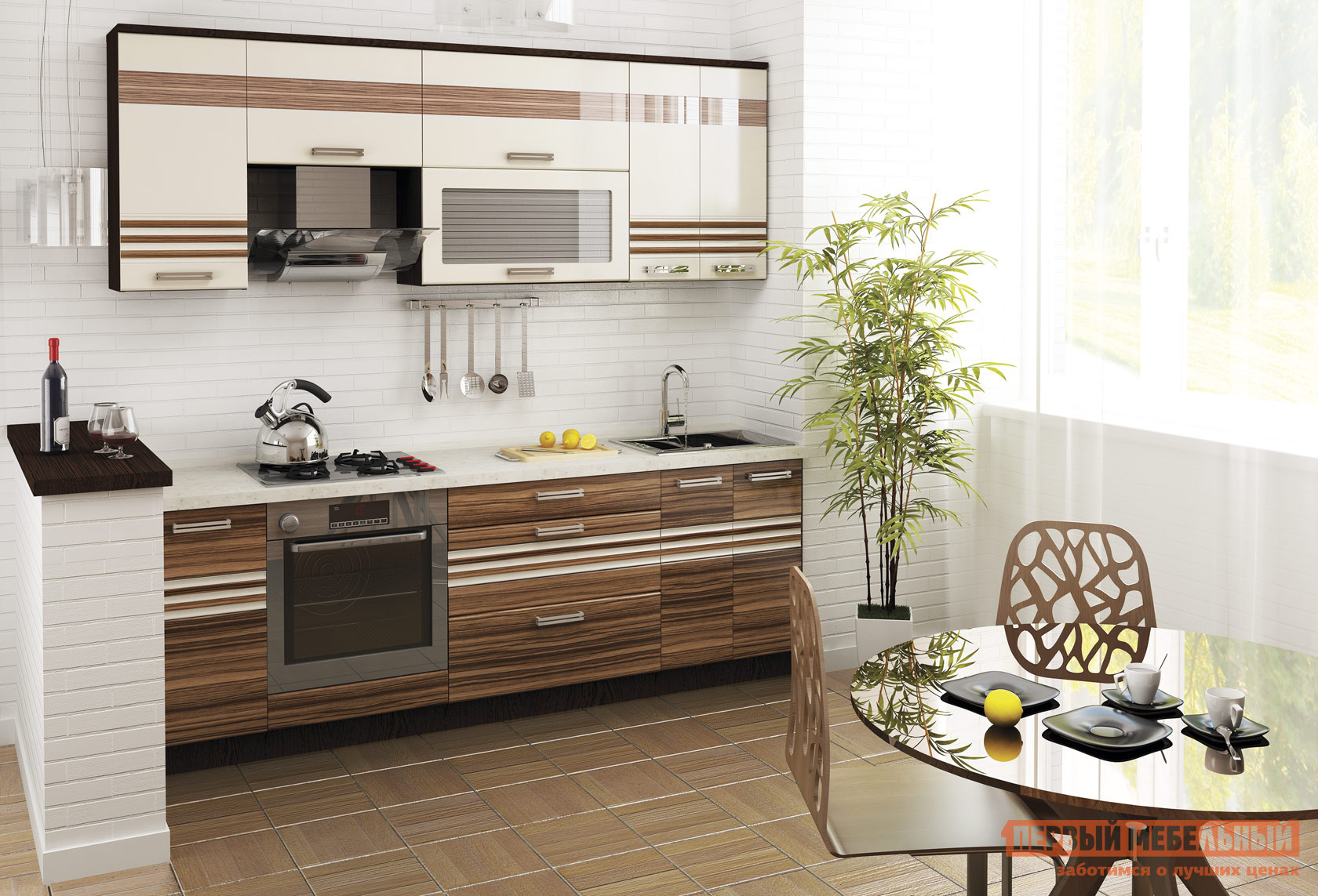 Комплект мебели для кухни Витра Рио 240 комплект мебели для кухни витра палермо 300