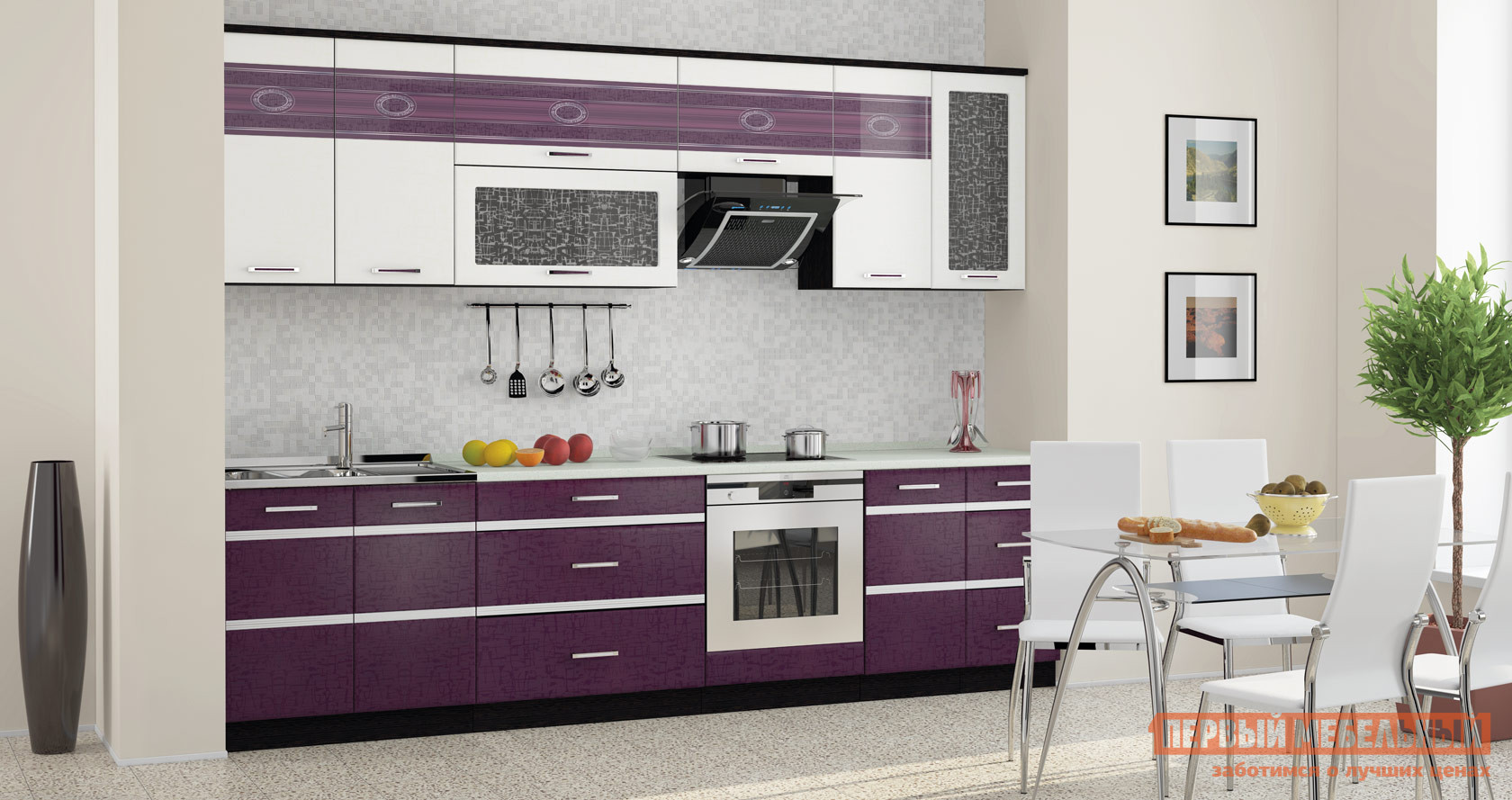Комплект мебели для кухни Витра Палермо 300 кухонный гарнитур витра палермо 300 2