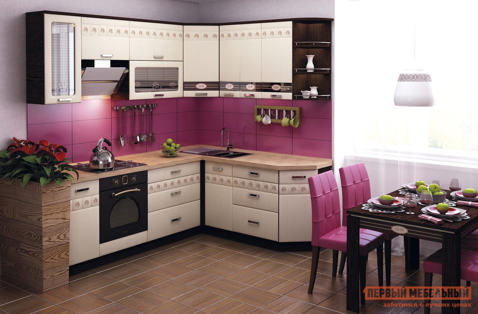 Комплект мебели для кухни Витра Аврора 240-190 комплект мебели для кухни витра палермо 300