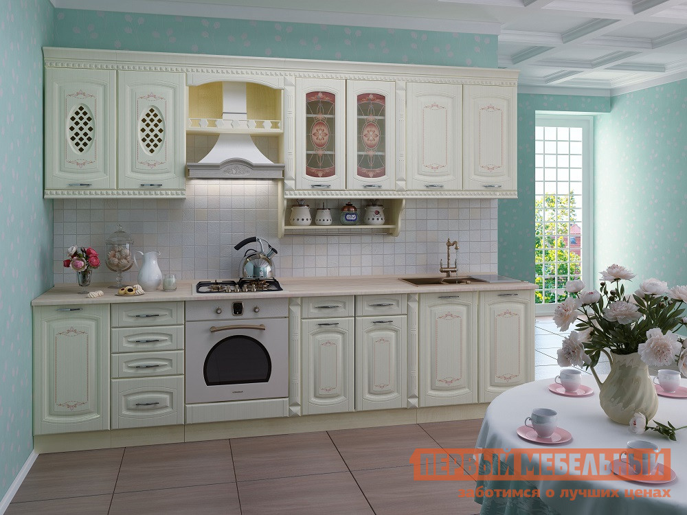 Кухонный гарнитур Витра Глория 3 К3 кухонный гарнитур витра глория 3 к1