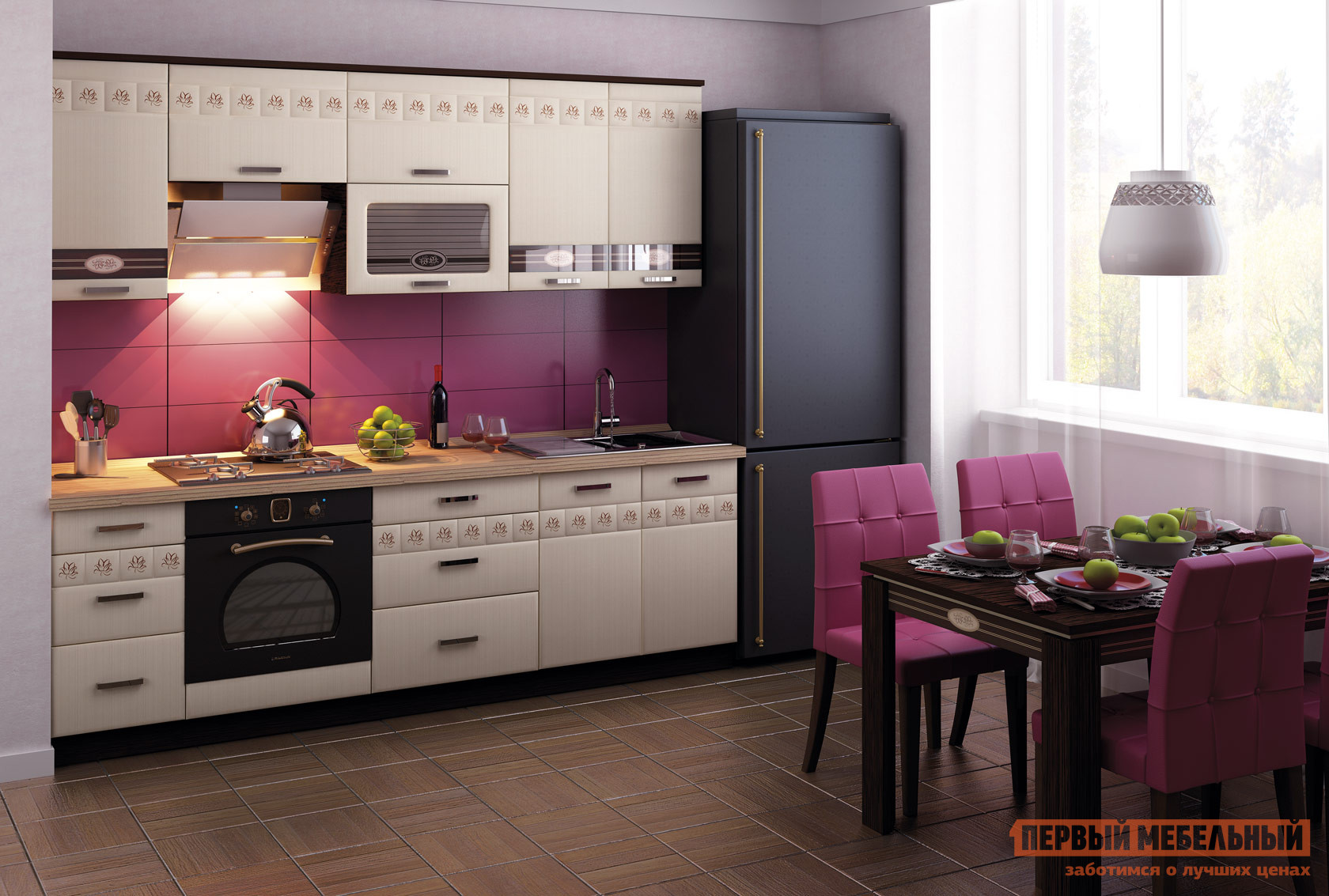 Кухонный гарнитур Витра Аврора 240 кухонный гарнитур витра глория 3 к1