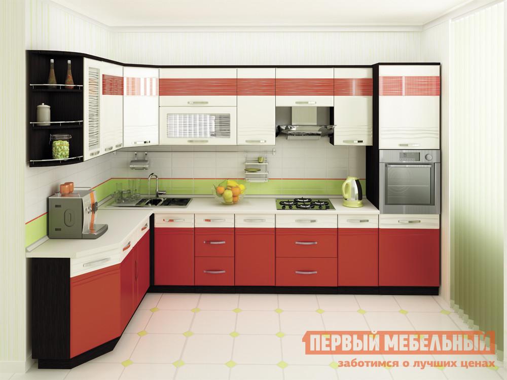 Кухонный гарнитур Витра Оранж 186-340 цена и фото