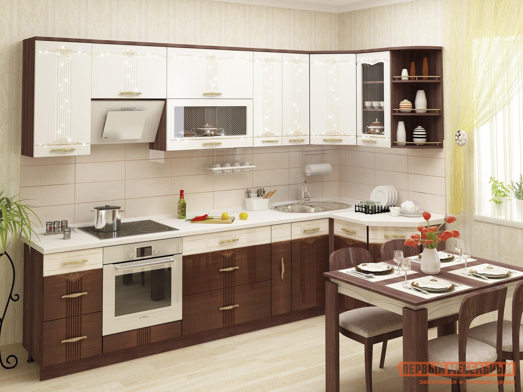 Кухонный гарнитур угловой Витра Каролина К2 кухонный гарнитур витра глория 3 к3