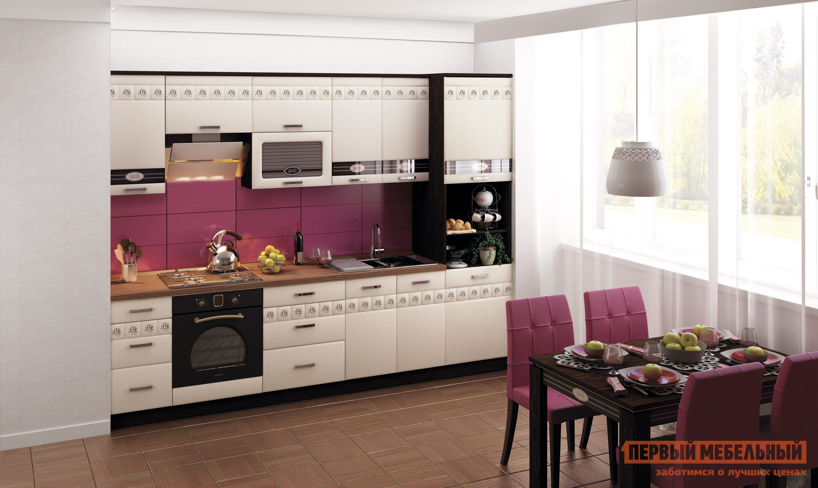 Кухонный гарнитур Витра Аврора 300-3 кухонный гарнитур витра глория 3 к2