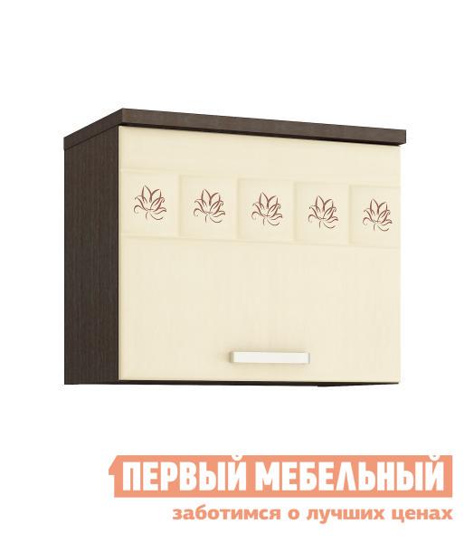 Шкаф к вытяжке Витра 10.12 ЛДСП венге / МДФ беленый дуб от Купистол