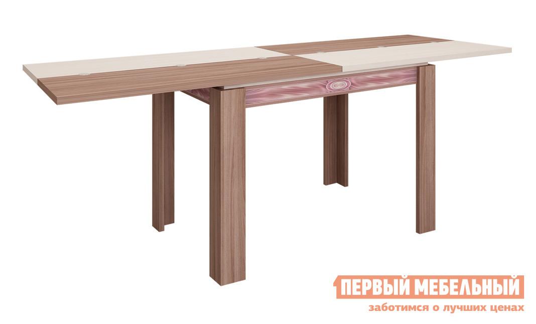 Кухонный стол Витра Орфей-19.10 Дуб Кобург / Ясень Шимо темный