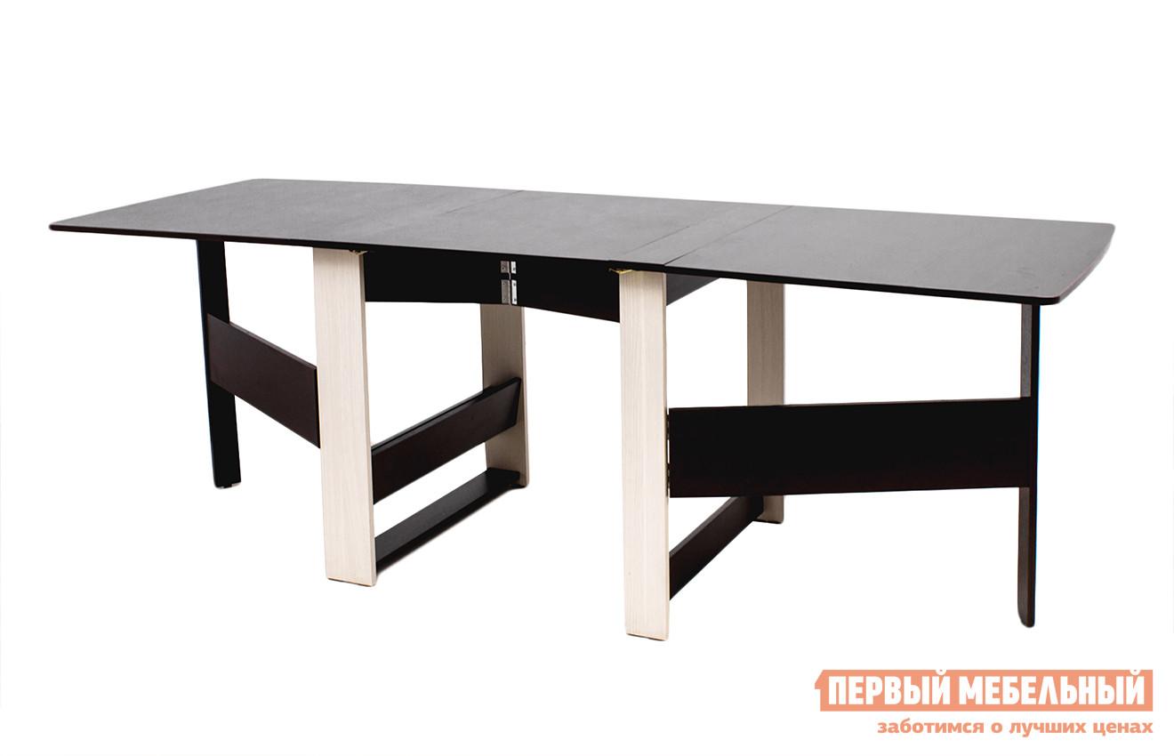 Складной обеденный стол-книжка большой Витра Колибри-12.2 обеденный стол витра орфей 21
