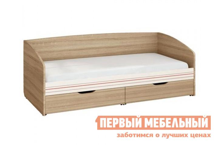 Детская кровать Витра 54.11 Дуб Сонома / Магнолия Глянец, Без матраса