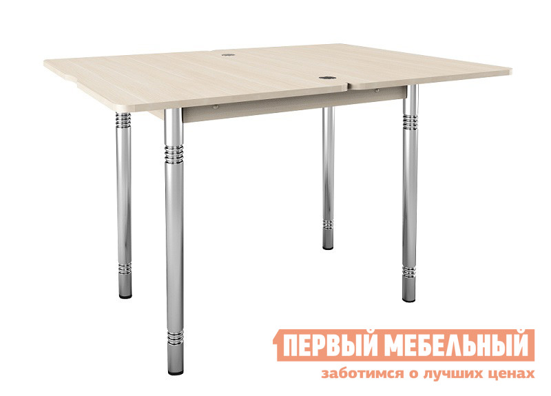 Деревянный кухонный стол-трансформер Витра Орфей-8 обеденный стол трансформер витра орфей 16