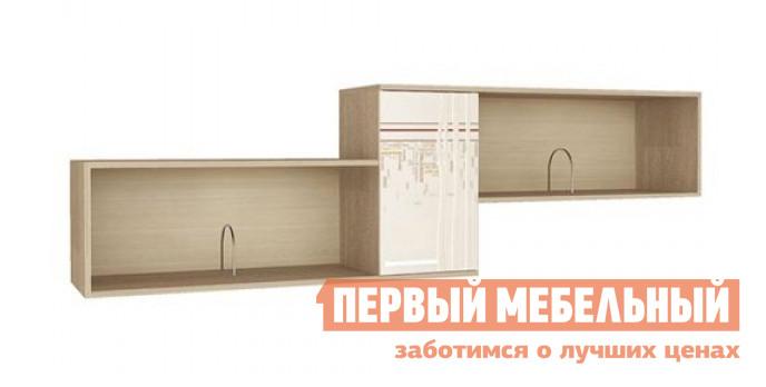 Настенная полка Витра 54.07 Дуб Сонома / Магнолия Глянец