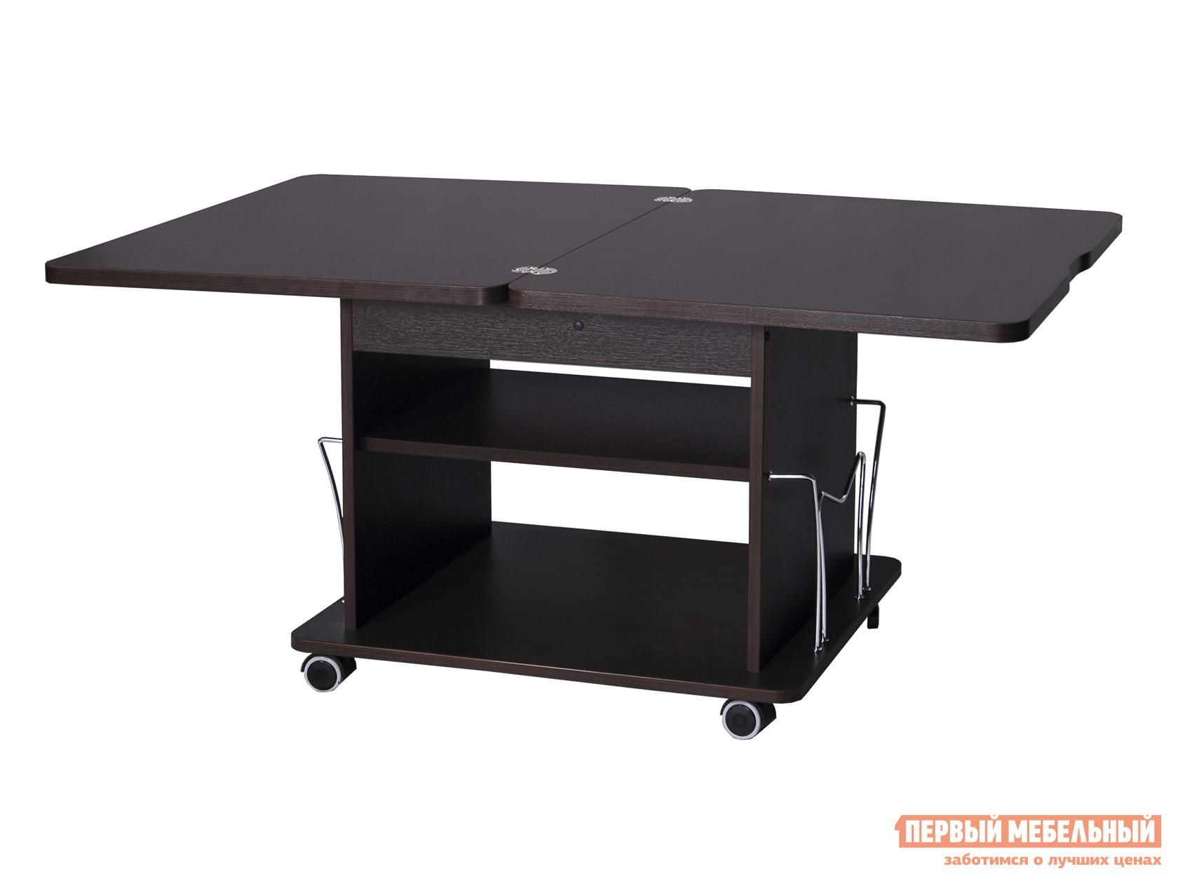 Раскладной журнальный столик-трансформер на колесиках Витра Агат-14.3 журнальный стол витра агат 21
