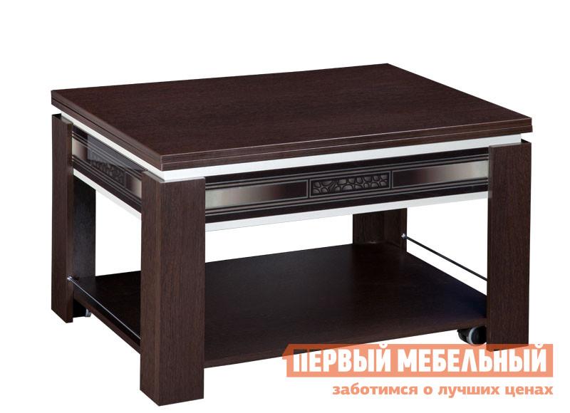 Журнальный столик Витра Агат-24.10 Венге / Синга крем