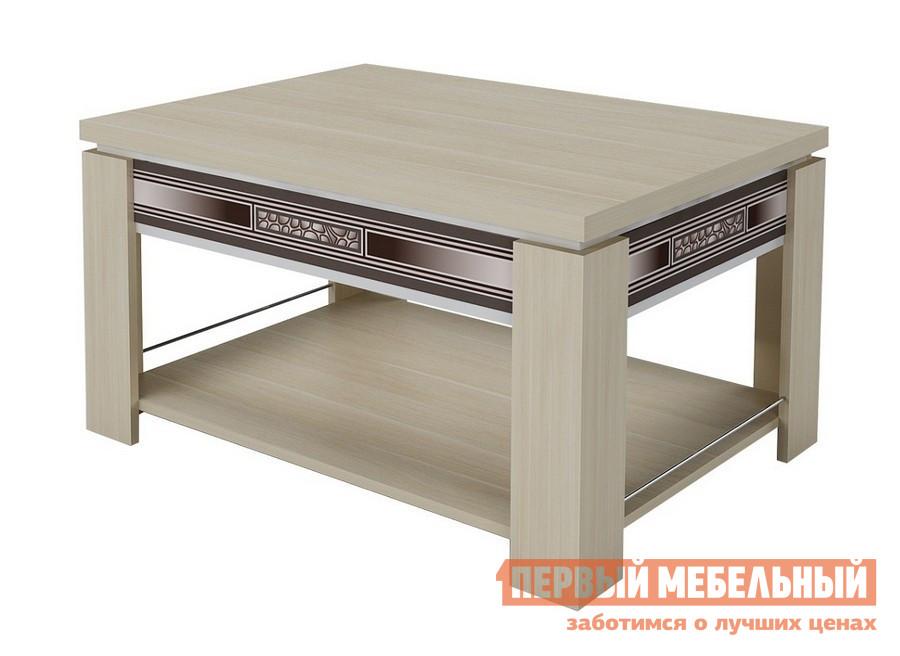 Журнальный столик Витра Агат-24.10 Дуб Кобург / Синга крем