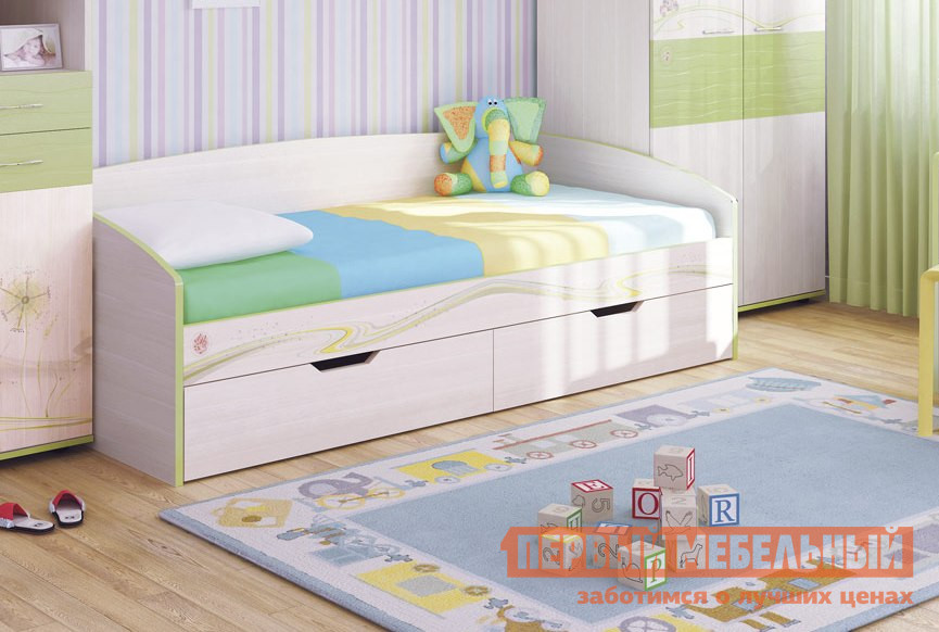 Детская кровать Витра Акварель-53.11 витра рубин 42 16