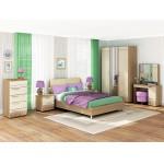 Комплект мебели для спальни Бриз К11