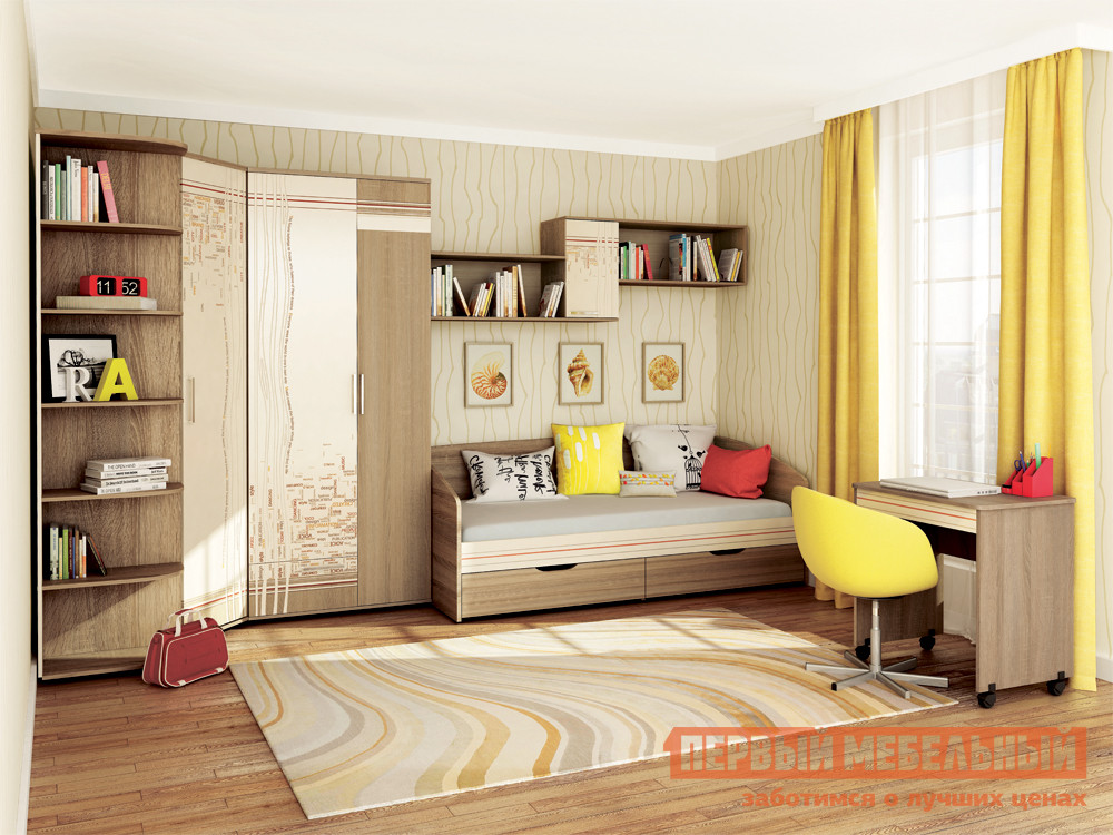 Комплект детской мебели Витра Бриз К5 комплект детской мебели витра бриз к2
