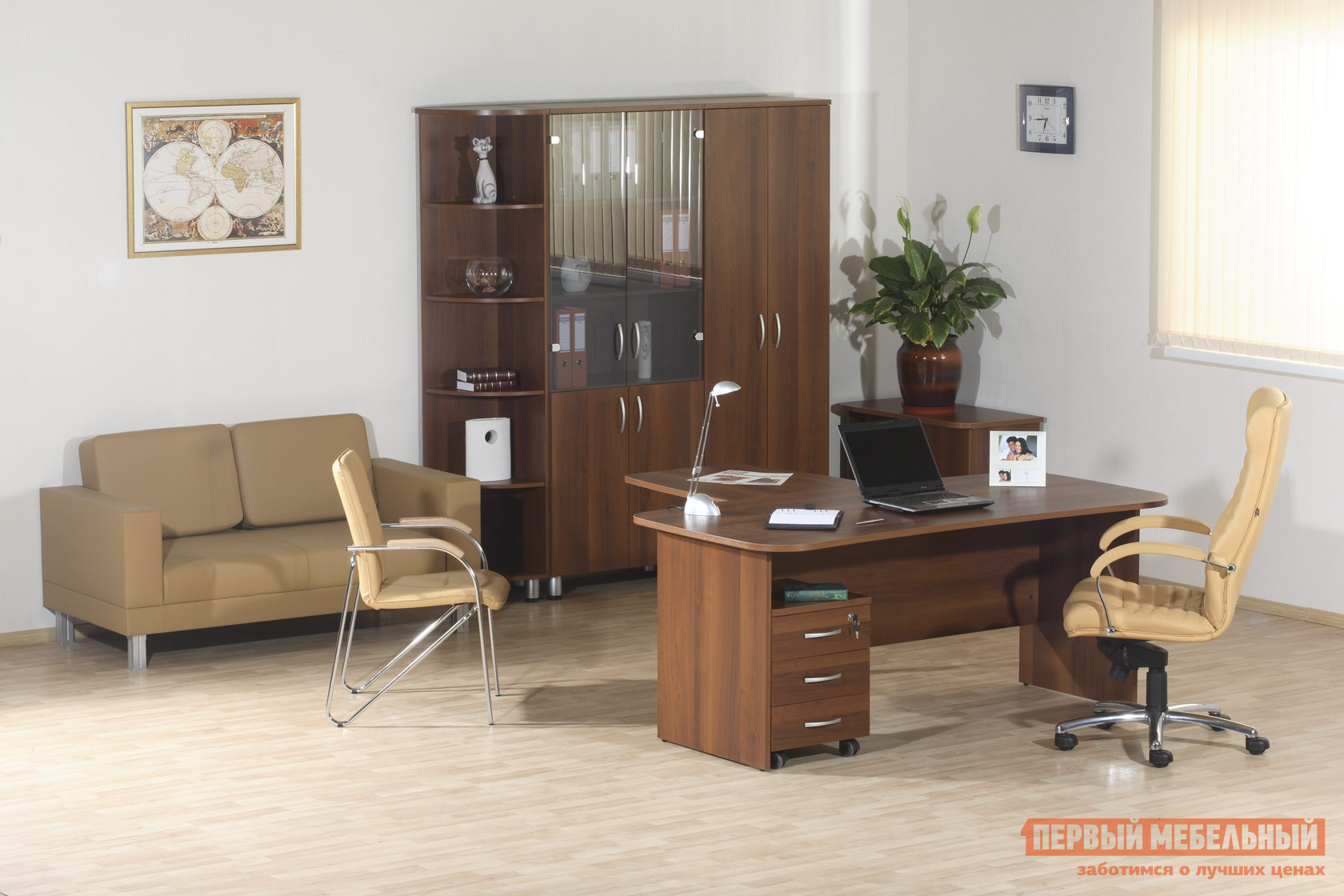 Комплект офисной мебели Витра Лидер К2 комод лидер 3 2