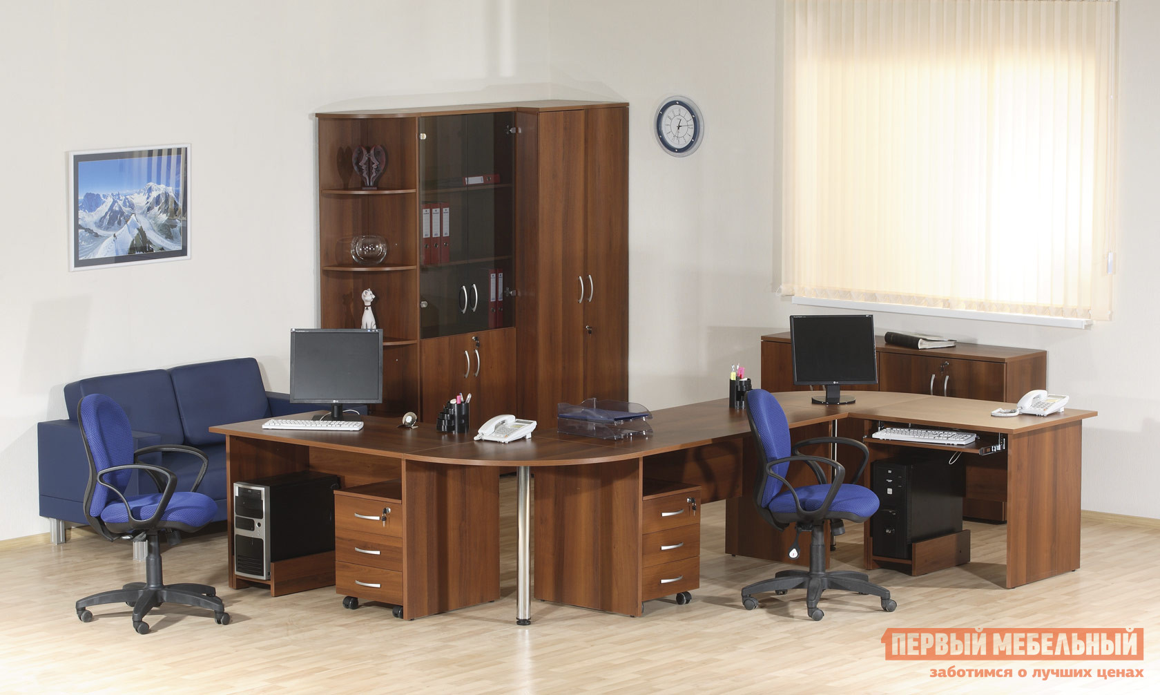 Комплект офисной мебели Витра Альфа К1 комплект офисной мебели витра лидер к1