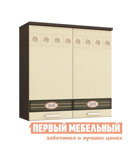 Шкаф-сушка Витра 10.02.1 ЛДСП венге / МДФ беленый дуб