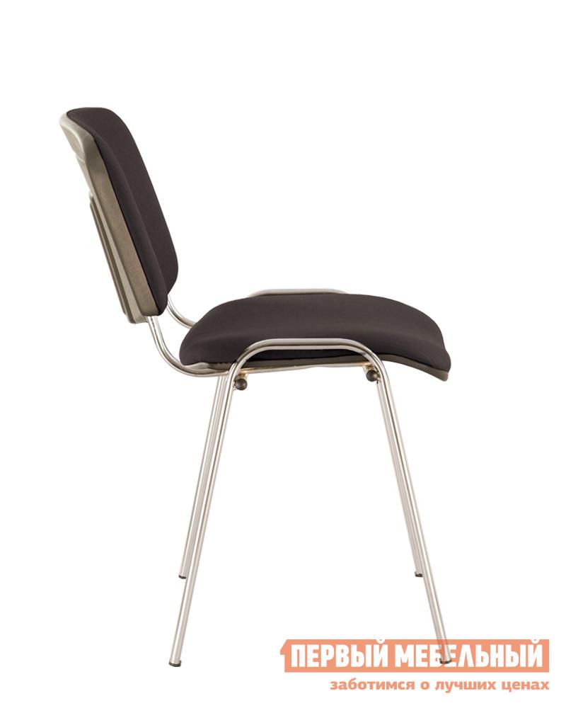 Офисный стул  ISO-24 CHROME RU Черная С-11 ткань