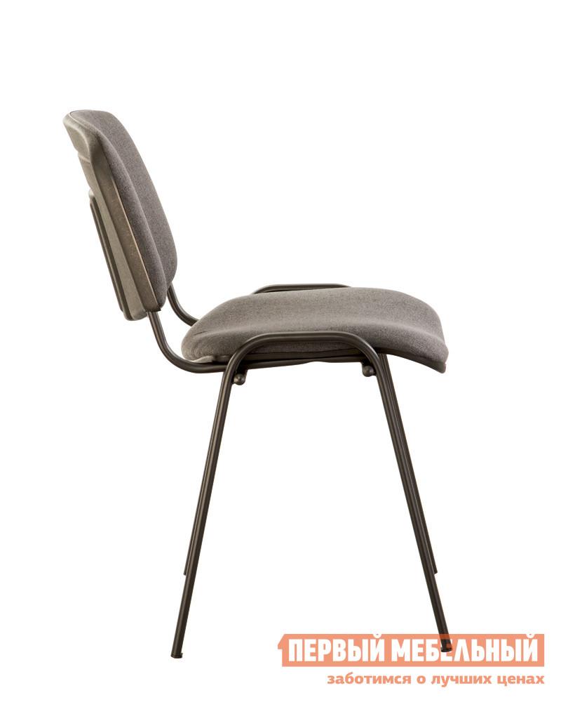 Офисный стул  ISO-24 BLACK RU Темно-серая С-38 ткань