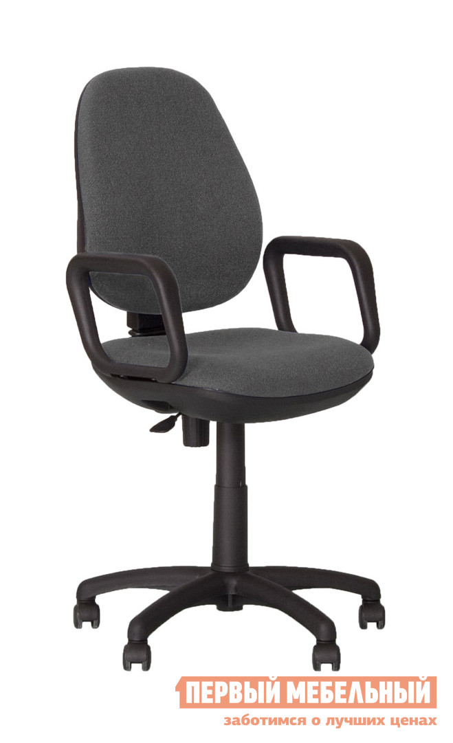 Кресло для офиса NOWYSTYL COMFORT GTP Темно-серая С-38 ткань от Купистол