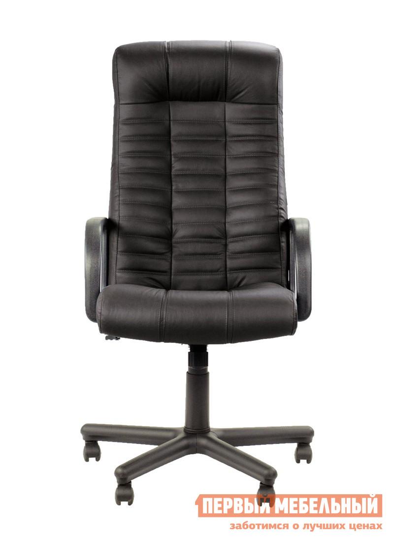 Кресло руководителя NOWYSTYL ATLANT BX RU Черная SP-A кожаКресла руководителя<br>Габаритные размеры ВхШхГ 1110 / 1203x540x480 мм. Презентабельное кресло для руководителя.  Форма модели эргономична, спинка прекрасно поддерживает позвоночник, а подголовник усиливает комфорт.  Регулировочные механизмы удобны и легки в использовании. Металлическое основание с пластиковыми накладками;Пластиковые черные подлокотники;Механизм обеспечивает свободное качание с возможностью фиксации сиденья и спинки в одном положении;Сиденье с возможностью регулировки по высоте;Спинка с регулировкой угла отклонения;Нагрузка до 100 кг.<br><br>Цвет: Черный<br>Высота мм: 1110 / 1203<br>Ширина мм: 540<br>Глубина мм: 480<br>Форма поставки: В разобранном виде<br>Срок гарантии: 1 год<br>Тип: До 80 кг<br>Тип: До 100 кг<br>Тип: До 90 кг<br>Тип: Регулируемые по высоте<br>Назначение: Для дома<br>Материал: Кожа<br>Материал: Искусственная кожа<br>С подлокотниками: Да<br>С мягким сиденьем: Да<br>Пластиковая крестовина: Да<br>С откидной спинкой: Да