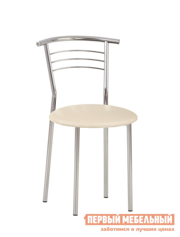 Стул NOWYSTYL MARCO CHROME (BOX-4) Бежевая V-18 иск.кожаСтулья для кухни<br>Габаритные размеры ВхШхГ 795x400x400 мм. Стул на металлическом каркасе с удобной спинкой.  Такой стул прекрасно впишется в интерьер кухни, также он подходит для оформления кафе или столовой. Обивка сиденья выполнена из качественной искусственной кожи.  Прочный и надежный металлический каркас обеспечивает долгий срок службы изделию.  Пластиковые заглушки на ножках защищают поверхность пола от царапин при перемещении стула.  Обратите внимание! Стулья поставляются комплектом по 4 штуки.  Цена указана за один стул.<br><br>Цвет: Бежевая V-18 иск.кожа<br>Цвет: Бежевый<br>Высота мм: 795<br>Ширина мм: 400<br>Глубина мм: 400<br>Кол-во упаковок: 1<br>Форма поставки: В разобранном виде<br>Срок гарантии: 1 год<br>Материал: Металлические, из искусственной кожи<br>Особенности: С мягким сиденьем, Без подлокотников