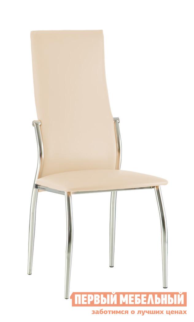 Стул NOWYSTYL MARTIN chrome Бежевая V-18 иск.кожаСтулья для кухни<br>Габаритные размеры ВхШхГ 985x445x395 мм. Стильная модель стула для кухни или обеденной зоны.  Плавный изгиб спинки придает изделию элегантные очертания.  Такой стул несомненно придется по вкусу ценителям современных форм и изящной классики.  Прекрасный вариант практически для любого интерьера. Ножки имеют пластиковые заглушки, которые защищают напольное покрытие от повреждений. Кресло поставляется в собранном виде. Спинка производится из сварного металлического каркаса, рама и ножки — хромированный металл.  Обивка — искусственная кожа.<br><br>Цвет: Бежевая V-18 иск.кожа<br>Цвет: Бежевый<br>Высота мм: 985<br>Ширина мм: 445<br>Глубина мм: 395<br>Кол-во упаковок: 1<br>Форма поставки: В разобранном виде<br>Срок гарантии: 1 год<br>Тип: в гостиную<br>Материал: Металлические, из искусственной кожи<br>Особенности: С мягким сиденьем, Без подлокотников, С мягкой спинкой